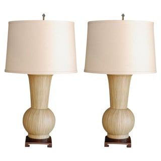 Paul Marra Urn Table Lamps