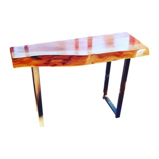 Live Edge Foyer Console Table