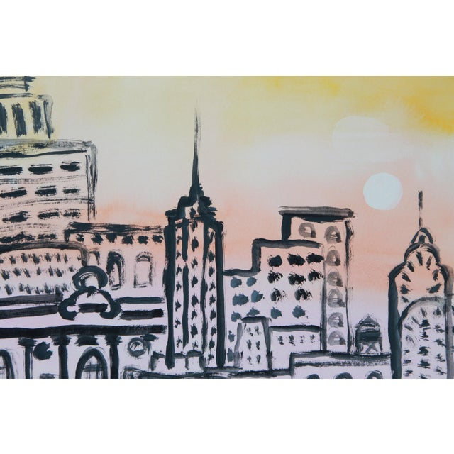 New York Cityscape Skyline by Cleo - Image 3 of 3