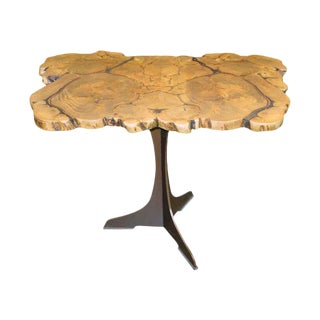 Customizable Book Matched Banyan Table