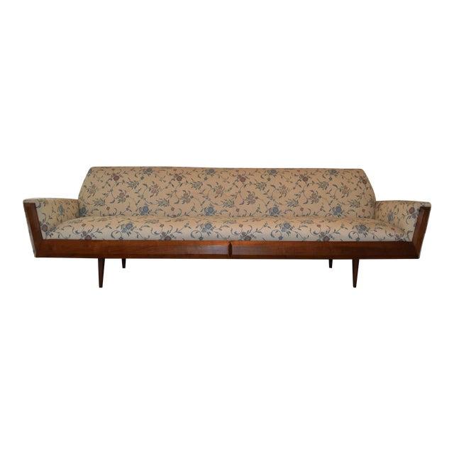 Pearsall Style Mid-Century Modern Gondola Sofa - Image 1 of 4