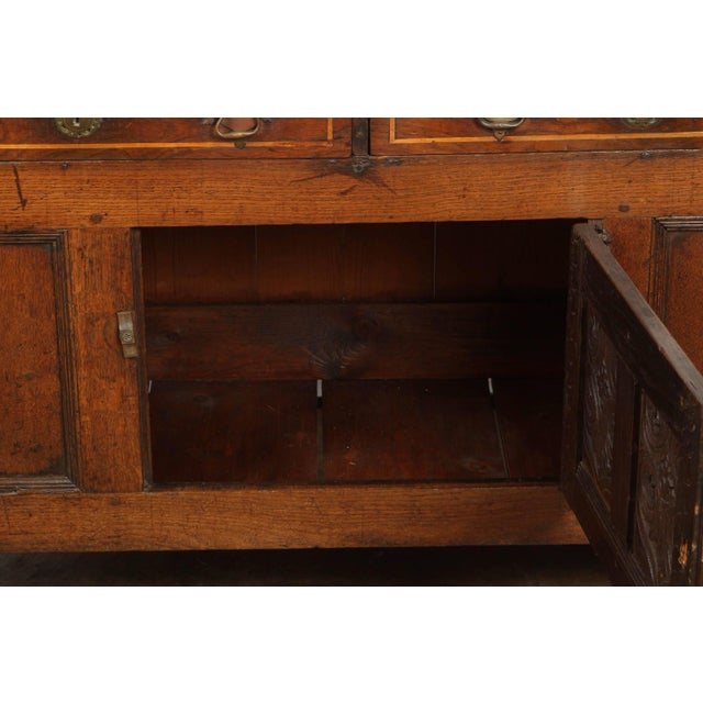 19th Century English Oak Sideboard - Image 6 of 10