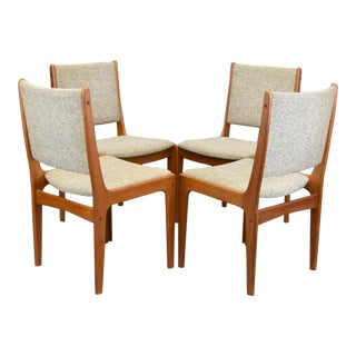 On Hold - Johannes Andersen Mid-Century Danish Teak Dining Chairs