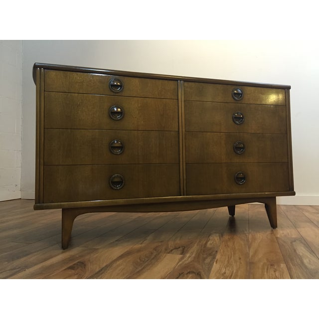 Landstrom Furniture Mid-Century Walnut Dresser - Image 2 of 11