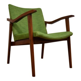 Mid-Century Green Lounge Chair