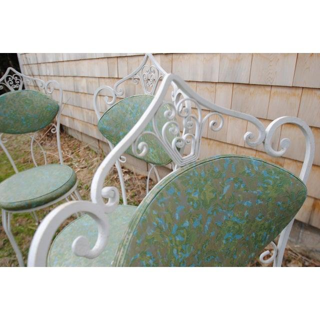 Image of Vintage Bohemian Iron Patio Set