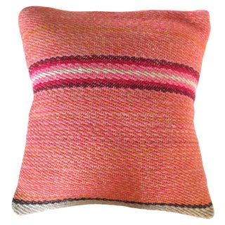 Peruvian Striped Pillow