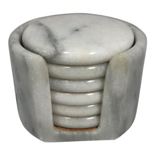 Contemporary Marble Coaster - Set of 6