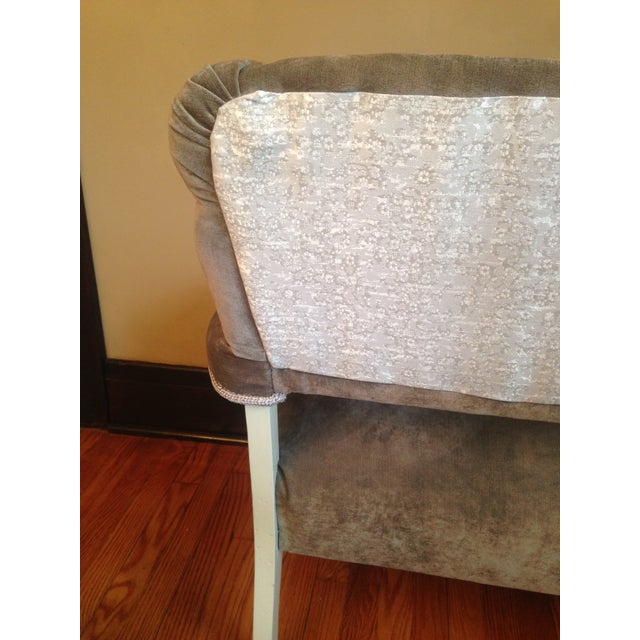 Image of Newly Upholstered Settee
