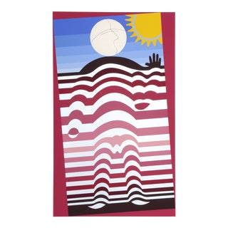 Sunbather by Victor Vasarely