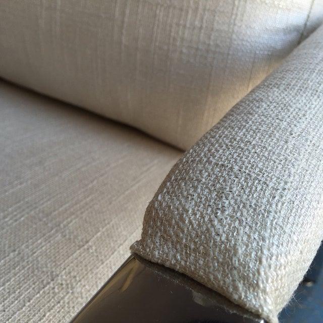 Milo Baughman Chrome Lounge Chair - Image 4 of 6