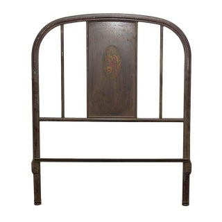 One Piece Metal Twin Headboard