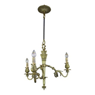 3 Light Louis XVI Style Fixture.