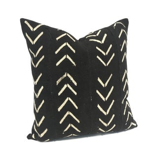 African Black & White Mudcloth Pillow Cover