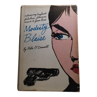 """1965 Peter O'Donnell """"Modesty Blaise"""" Book"""