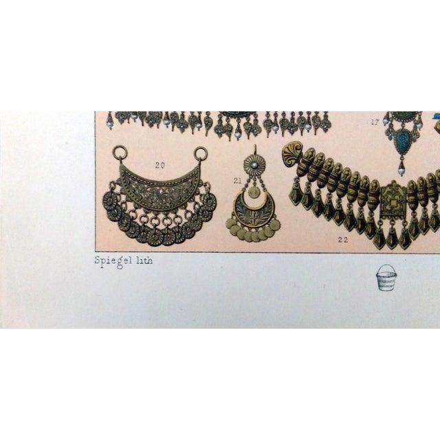 1888 Jewelry of Ancient Asia Lithograph - Image 3 of 7