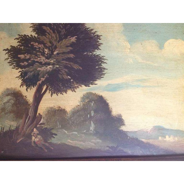 Pair of 19th Century Italian Landscapes - Image 5 of 9