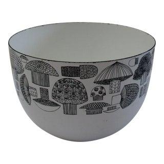 Mid-Century Modern Finel Arabia Kaj Franck Mushroom Bowl