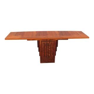 French Art Deco Style Macassar Ebony Console Table