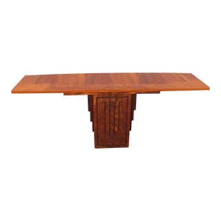 French Art Deco Style Macassar Ebony Console Table