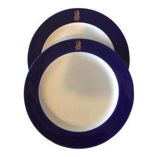 Ritz Carlton Plates - A Pair