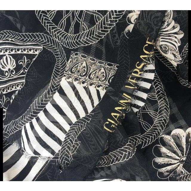 Versace Column & Rope Chiffon Fabric - Image 6 of 8