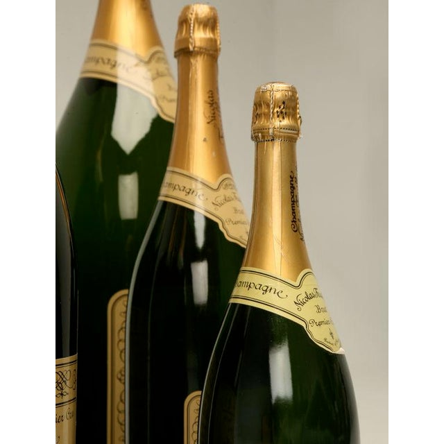 Set of 6 Nicolas Feuillatte Champagne Bottle Store Props - Image 4 of 10
