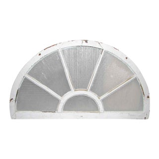 Reclaimed Fan Shaped Light Transom