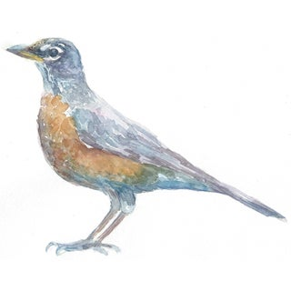 "Watercolor Painting of ""Robin"" by Lexie Armstrong"