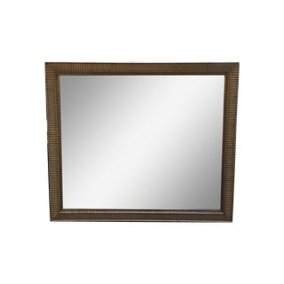 Nancy Corzine Custom Silver Finish Beveled Mirror