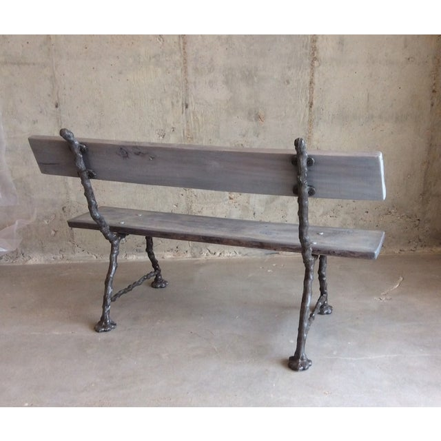 Faux Bois Bench - Image 6 of 6