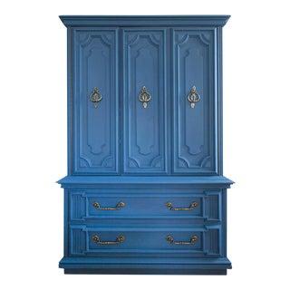 Vintage Blue Lucille Armoire