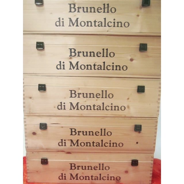 Vintage Italian Storage Boxes - Set of 5 - Image 9 of 11