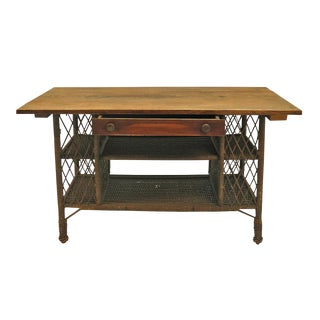 Wicker Desk
