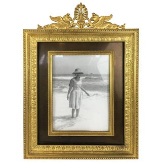 Ormolu & Patinated Picture Frame
