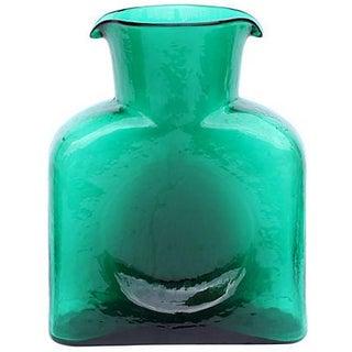 Blenko Green Water Pitcher