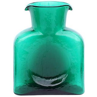 Blenko Green Water Pitcher