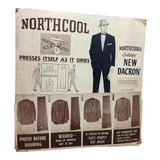 Old Northcool Men's Clothing Ad