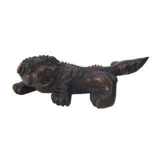 Chinese Handmade Bronze Feng Shui Pi Xiu Statue