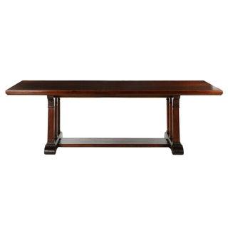 American Arts & Crafts Mahogany Dining Table