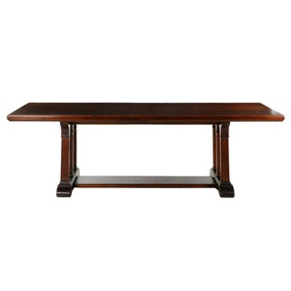 American Arts & Crafts Mahogany Dining Table