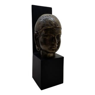 Buddhist Head Sculpture Wall Art #1
