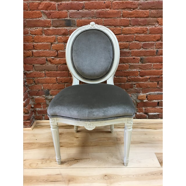 Swedish Gustavian Style Side Chair - Image 2 of 9