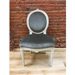Image of Swedish Gustavian Style Side Chair