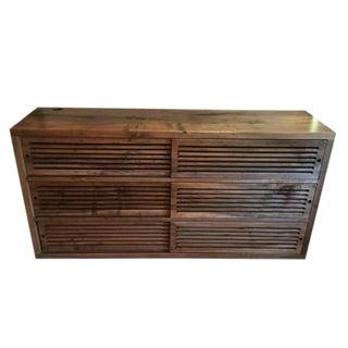 Oxidized Maple Media Cabinet