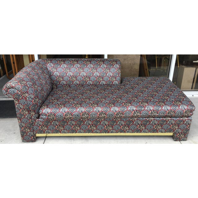 Mid century chaise lounge chairish for Chaise lounge band