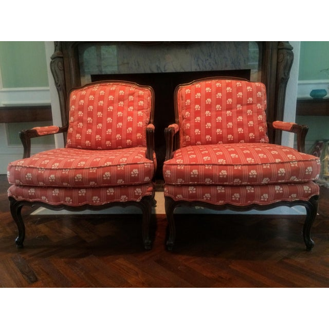 Baker Furniture Bergere Chairs - A Pair - Image 10 of 11