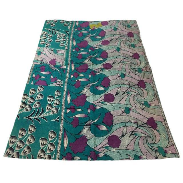 Vintage Kantha Quilt - Image 2 of 3
