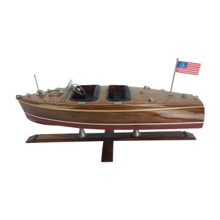 Authentic Models Chris Craft Motorboat