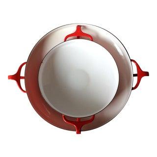 Dansk Kobenstyle Enamel Red Pans - A Pair